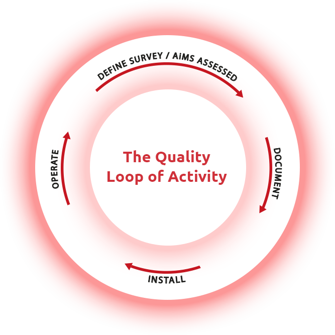 The Quality Loop of Activity